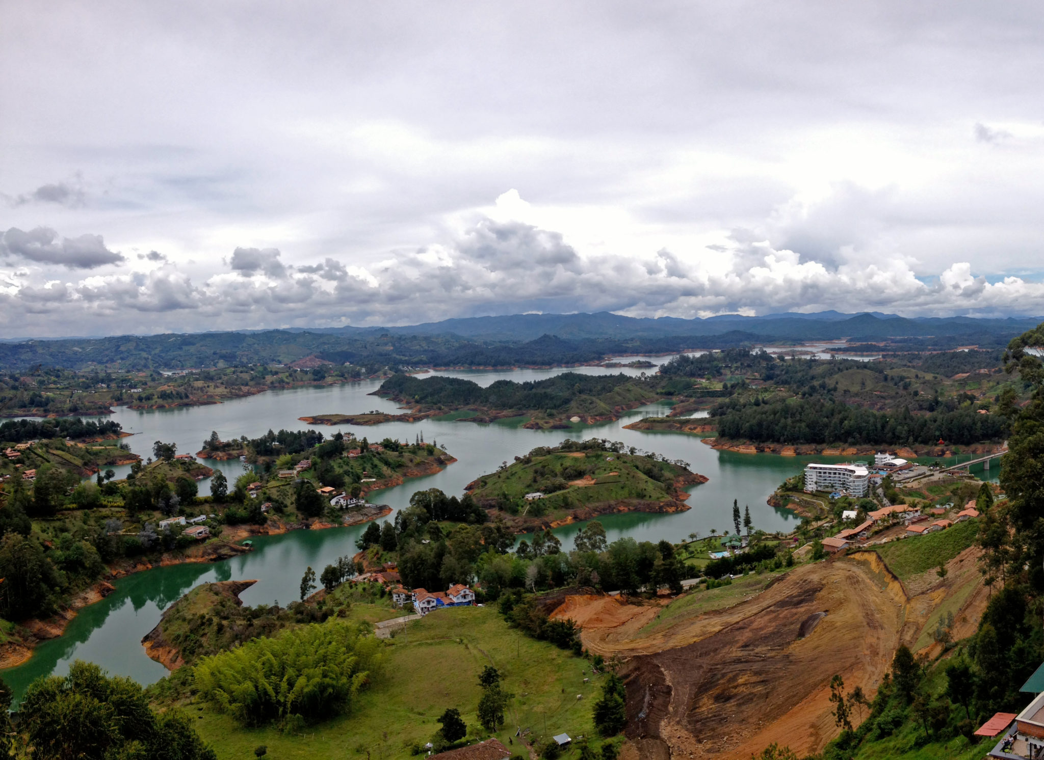A Night in Guatape, Colombia