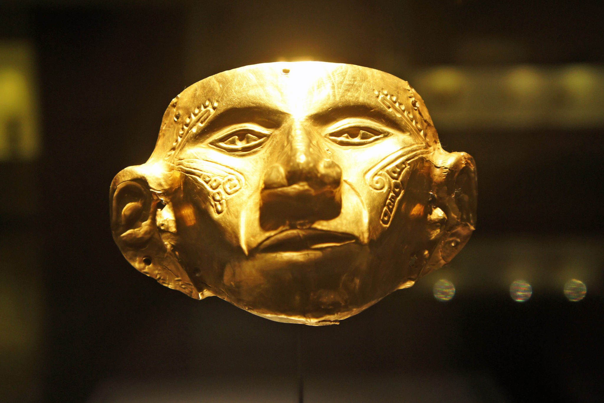 An image from the museo de oro in Bogota