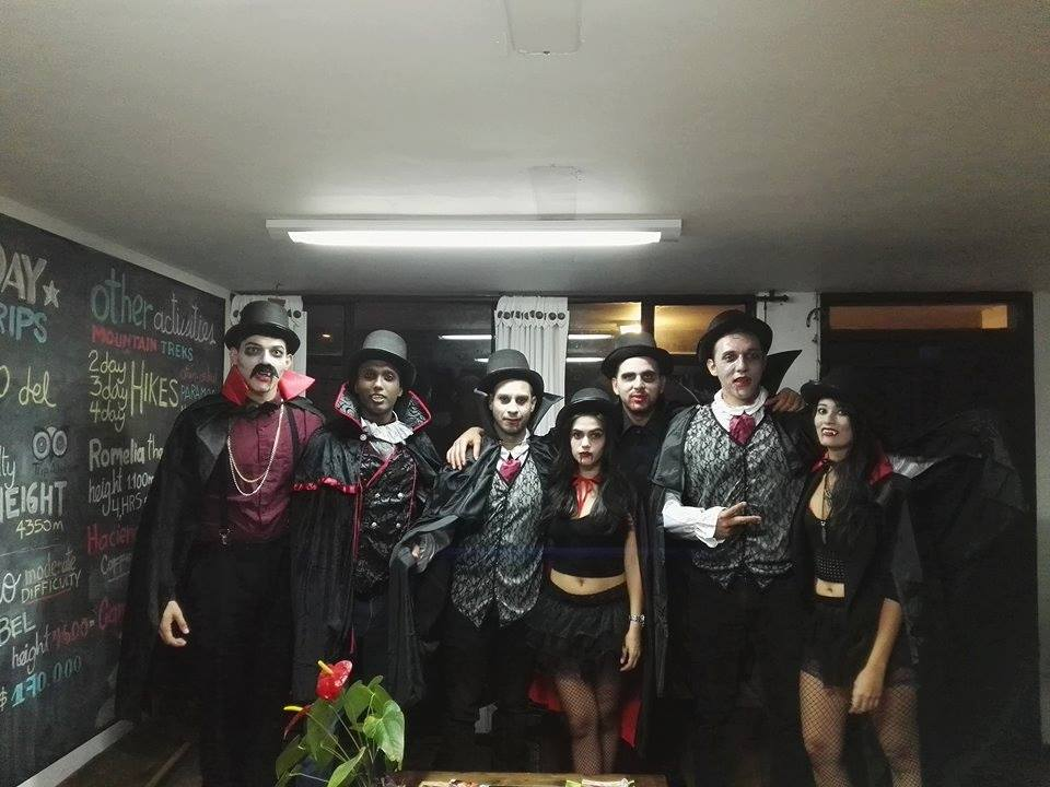 Halloween 2016: Celebrating in Manizales, Colombia